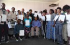 Graduation Ceremony For People Living With Disabilities
