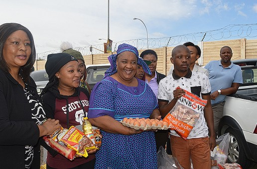Mec Issues Food Parcels To Disadvantaged Students
